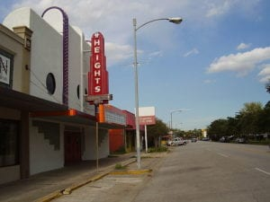 Heights Theater and the Houston Heights