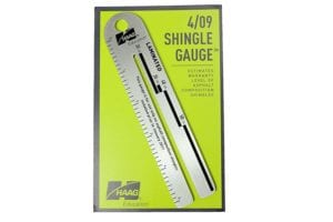 house flipping tools: shingle gauge